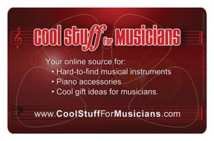 Cool Stuff For Musicians